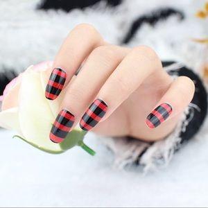 fancy fashions Makeup - Striped nail 💅 wraps